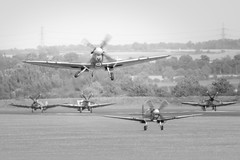 Scramble (G&R) Tags: duxford airshow september 2015 canon 7d2 spitfire spitfires scramble takeoff