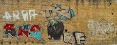 Arte Urbano. (Pontius Pilatuss) Tags: urbana urban street calle callejeo graffiti pintura paint wall history historia colores colors drawn dibujo photography fotografia andalucia andalousie dibujar
