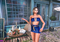 Why are you late? (alexandra sunny) Tags: lsr catwa maitreya aviglam fabiahair tres chic woman secondlfe blog blogger date