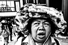 Untitled (Victor Borst) Tags: street streetphotography streetlife reallife real realpeople asian asia asians faces face candid travel travelling trip traveling urban urbanroots urbanjungle blackandwhite bw mono monotone monochrome tokyo asakusa close closeup city citylife cityscape fuji fujifilm xpro2 expression happyplanet asiafavorites