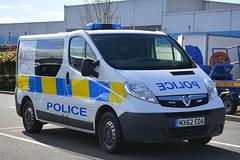 NX62 EOA (S11 AUN) Tags: cleveland police vauxhall vivaro incident response irv cell cage station lockup van 999 emergency vehicle nx62eoa