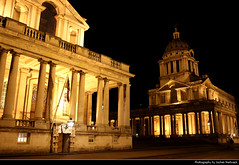 Royal Naval College, Greenwich, London, UK (JH_1982) Tags: royal naval college old greenwich 格林尼治 グリニッジ 그리니치 гринвич king william court queen mary painted hall chapel maritime baroque barock architecture landmark building famous sightseeing tourism tourist sight unesco world heritage site nacht night nuit noche notte 晚上 夜 ночь light licht lumière luz 光 свет evening abend london londres londra 伦敦 ロンドン 런던 лондон england inglaterra angleterre inghilterra uk united kingdom vereinigtes königreich reino unido royaumeuni regno unito 英国 イギリス 영국 великобритания