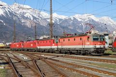 ÖBB 114 070-9, 1144 227-6, 1116 091-0, 1116 269-2 Lokzug, Innsbruck (TaurusES64U4) Tags: öbb 1144 1116 taurus