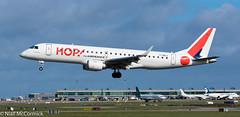 F-HBLC HOP! Embraer ERJ-190LR (ERJ-190-100 LR) (Niall McCormick) Tags: dublin airport eidw aircraft airliner dub aviation fhblc hop embraer erj190lr erj190100 lr