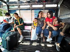 Bangkok -3220582 (Neil.Simmons) Tags: thailand bangkok candid asia southeastasia jeepney seongthaew pickup truck sleep sleeping streetphotography