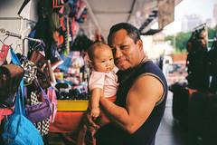 """""""Greatest Love Of All"""" (Yeow8) Tags: minoltacle minoltamrokkor40mmf2 kodakcolorplus200 fatherlove daddylove daddybaby filmphotography filmphotographer filmisnotdead filmcommunity ishootfilm streetportrait streetphotography documentaryphotography streetdocumentaryphotography streetdocumentaryphotographer portraiture pudu kualalumpur malaysia"""