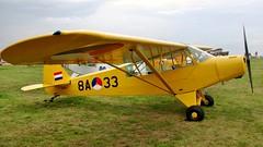 N298SQ - Piper L-18C Super Cub      Schaffen Diest (V77 RFC) Tags: august2010