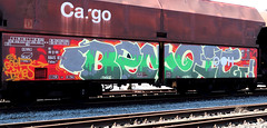 Graffiti on Freights (wojofoto) Tags: amsterdam nederland netherland holland freighttraingraffiti freighttrain freights fr8 cargotrain vrachttrein graffiti streetart wojofoto wolfgangjosten benoi benoit