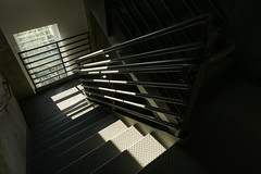 Sunday (Brian McGloin) Tags: brianmcgloin photographer photography photojournalist portland sonyrx100m5a sonyrx100va cascadia stairs stairwell apartmentbuilding cyanpdx