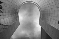 (Jacques Isner) Tags: ladéfense paris pentax pentaxart pentaxflickraward pentaxk5 tamron architecture urbain ciel cloud jacquesisner