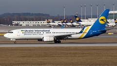 Boeing 737-8Q8(WL) UR-PSP Ukraine International Airlines (William Musculus) Tags: plane spotting airport airplane william musculus aviation urpsp ukraine international airlines boeing 7378q8wl muc munchen munich eddm 737800 uia ps aui