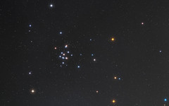 The Crab and the Colorful Beehive (Radical Retinoscopy) Tags: m44 beehive cluster cancer crab astronomy astrophotography nightsky star starcolors starspikes4 constellation