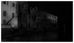 Evening in the port (Wilco1954) Tags: corse startrails leicaq harbourlight longexposure corsica saintflorent