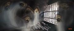 the UNDERGROUND JAIL - Fatahilah Museum, Jakarta (suRANTo dwisaputra) Tags: jail ghost prisoner dark art
