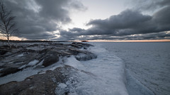 Everything covered in ice (Mika Lehtinen) Tags: ice snow rocks winter finland cold slippery sea sky