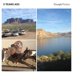 SuperstitionCollage (ONE/MILLION) Tags: vacation travel tours visit outdoors superstition mountains church blue sky snow clouds golf course canyon lake cactus williestark onemillion saguaro rocks mailbox colorful weather lost dutchman gold mine history