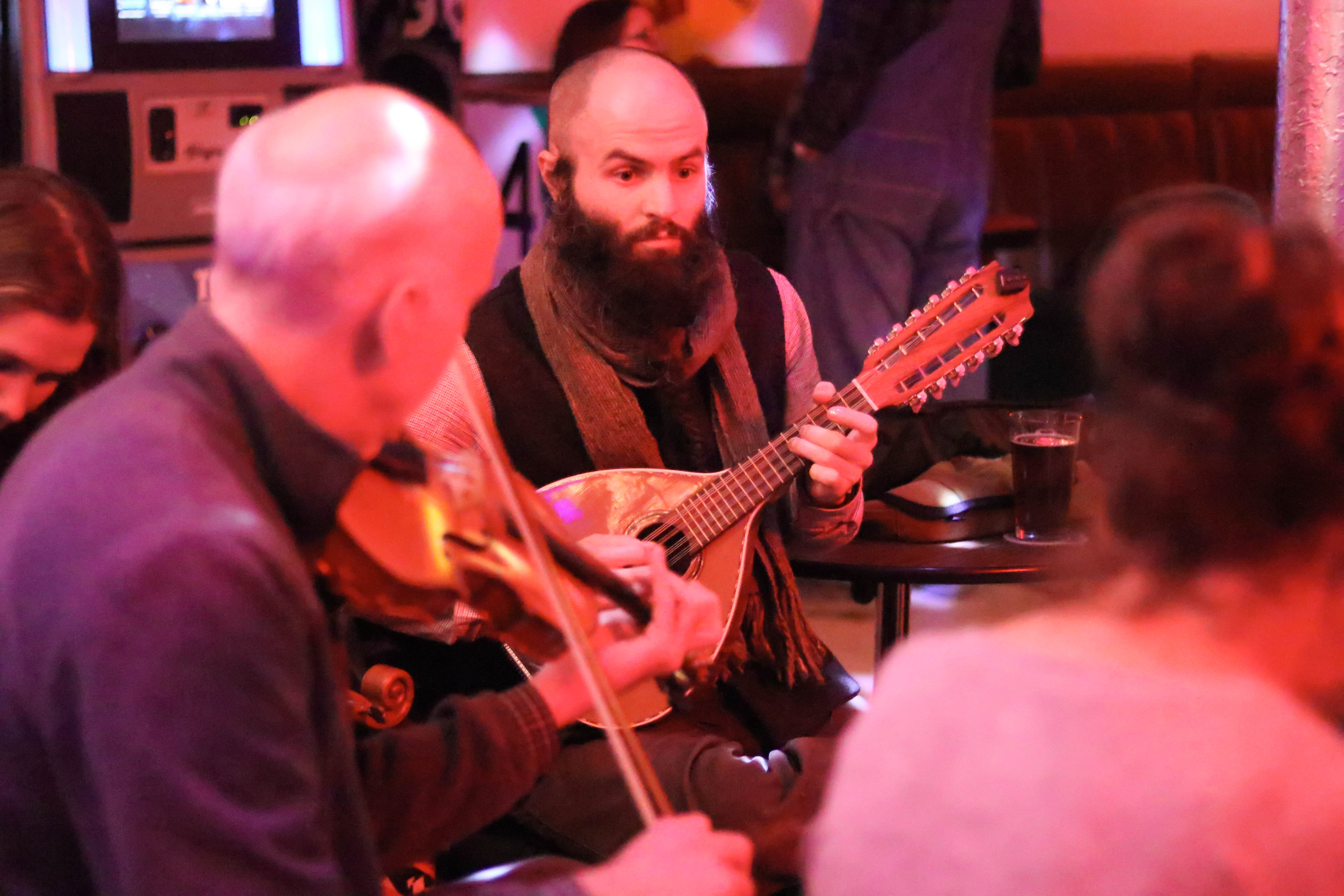 Photos: Traditional Irish Session at The Hot Mess 1 10 19