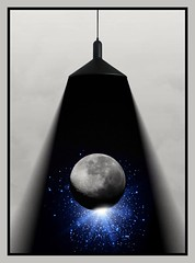moonlight (MoparMadman63) Tags: illusion photoshop collage creative artistic light moon nightphotography dark nighttime framed