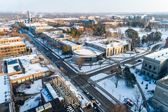 2019 - January - CHS - Snowy Winter Break Sunday-176-HDR.jpg (ISU College of Human Sciences) Tags: building winter forker campus buildings foodsciencebuilding morrill snow lagomarcino ringoflife drone campanile scenic palmer fshn chs mackay beauty