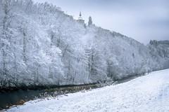 Winterwald (Rafael Zenon Wagner) Tags: nikon d810 sigma35mmf14dghsmart schnee snow winter forest wald flus river