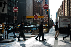New York Walkers (Eddie K. Photo) Tags: new york city manhattan street photograpy