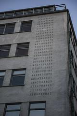 260 digits of π (pi) (Rudi Pauwels) Tags: 2019onephotoeachday goteborg gothenburg ekelundsgatan pi digits 260digitsofpi house windows