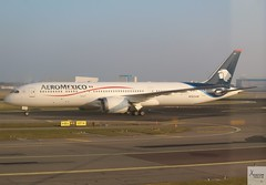 Aeromexico B787-9 N183AM taxiing at AMS/EHAM (AviationEagle32) Tags: amsterdam amsterdamschipholairport ams amsterdamairport amsterdamschiphol schiphol schipholairport schipholviewingterrace eham thenetherlands holland airport aircraft airplanes apron aviation aeroplanes avp aviationphotography avgeek aviationlovers aviationgeek aeroplane airplane planespotting planes plane flying flickraviation flight vehicle tarmac aeromexico staralliance boeing boeing787 787 b787 b787dreamliner b7879 b787900 boeing787dreamliner b789 n183am