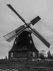Windmühle Stove 022019 B&W 01 (U. Heinze) Tags: mecklenburgvorpommern olympus ostsee blackwhite bw deutschland germany