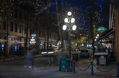 On The Corner Of Abbott & Water (Clayton Perry Photoworks) Tags: vancouver bc canada winter explorebc explorecanada night lights gastown