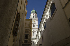 St Stephens Cathedral - Passau (rschnaible) Tags: st stephens cathedral church historical history circa 1688 baroque architecture building passau germany europe outside exterior