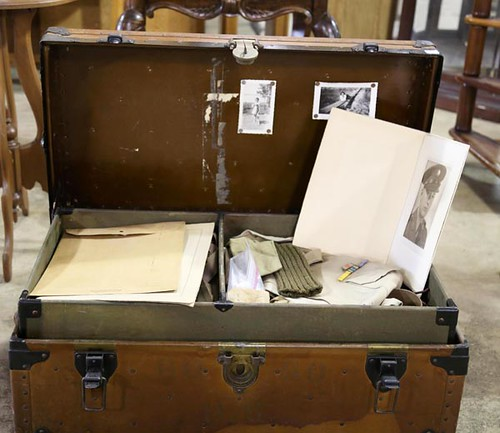 Trunk with Contents of Military Soldier ($257.60)