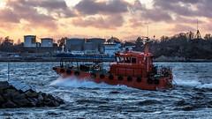 Pilot 218 SE (tonyguest) Tags: pilot boat 218se harbour hamn water karlshamn blekinge sweden tonyguest