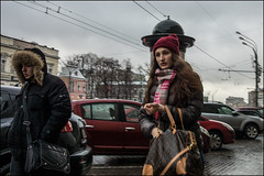 5_DSC5075 (dmitryzhkov) Tags: urban city everyday public place outdoor life human social stranger documentary photojournalism candid street dmitryryzhkov moscow russia streetphotography people man mankind humanity color colour snow snowfall badweather