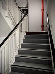 Stairwell (Dave Dixon LRPS) Tags: stairs interior manchester architechture urban pixel3