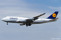 Lufthansa Boeing 747-430  |  D-ABVZ  |  Frankfurt Rhein-Main  - EDDF (Melvin Debono) Tags: lufthansa boeing 747430 | dabvz frankfurt rheinmain eddf cn 29870 melvin debono spotting canon plane planes photography airport airplane aviation aircraft germany deutschland fra