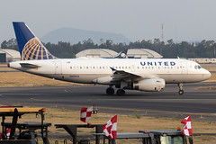 United Airlines Airbus A319-100 N899UA MMMX 07APR19 (FelipeGR90) Tags: aicm ciudaddemexico mexicocity unitedairlines a319 a319100 airbus cdmx mex mexico mmmx n899ua ua ual united