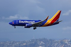 B737 N938WN Los Angeles 21.03.19 (jonf45 - 5 million views -Thank you) Tags: airliner civil aircraft jet plane flight aviation lax los angeles international airport klax southwest airlines boeing 737 n938wn