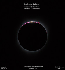 TotalSolarEclipse_InnrCoronaBBsPromsChrom_ReSizedDownTo2xHD (homcavobservatory) Tags: homcav observatory total solar eclipse totality perihelion inner corona baileys beads prominence chromosphere orion ed80t cf 80mm f6 apochromatic refractor canon 700d t5i dslr star adventurer astronomy astrophotography