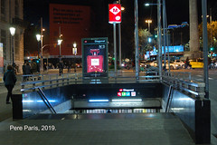 190104  1016 (chausson bs) Tags: barcelona metropolitano metro metrodebarcelona bocasdemetro boquesdemetro metropolità nocturnas nocturnes noche nuit nit night 2019