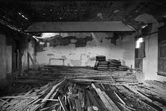 The Last Applause (ⓦeͤ █ iͥ rͬ dͩLiͥ █ G̷̃̊̏̂̓͂̅) Tags: abandoned urbex urbanexploration rurex decay asbestos creepy trespass abstract eclectic art photography blackandwhite bw mono monochrome auditorium keota colorado ghosttown lighting derelict longexposure gymnasium