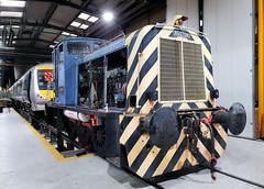 01509 (R~P~M) Tags: train railway diesel locomotive shunter 01 ruston depot aylesbury arriva chilternrailways bucks buckinghamshire england uk unitedkingdom greatbritain