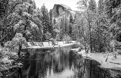 Half Dome Sentinel Bridge Yosemite National Park Sony A7R III California Fine Art Winter Landscape Nature Photography! High Res 4k 8K Photography! Dr. Elliot McGucken Fine Art Wild California Yosemite NP! Sony FE 16–35 mm G Master Wide-Angle Zoom Lens! (45SURF Hero's Odyssey Mythology Landscapes & Godde) Tags: yosemite national park sony a7r iii california fine art winter landscape nature photography high res 4k 8k dr elliot mcgucken wild np fe 16–35 mm g master wideangle zoom lens 3