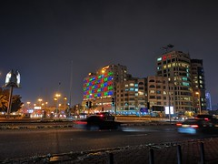 NIGHT MODE (dawey [Mohammad Alhmaid]) Tags: daweyq8 2019 building city colors dawey huawei huaweimate20pro kuwait longexposure lyal29 mobile mohammadalhmaid nightmode outdoor photography street travel هواوي