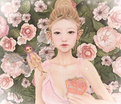 Take my little heart (Gabriella Marshdevil ~ Trying to catch up!) Tags: sl secondlife cute kawaii elf doll catwa randommatter mudskin foxy