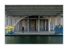under the bridge (patrice bourdin) Tags: grandparis graff concrete streetphotography structure