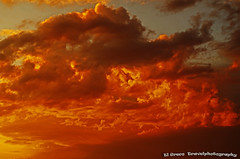dramatic sunset clouds by  San Leonardo (El Greco Travelphotography) Tags: italy travel autumn pentax pentaxk50 view nature sunset clouds mediterranee sky color lombardia
