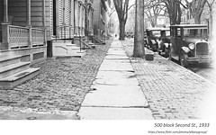 1933  500 block of second st. (albany group archive) Tags: 1930s west hill old albany ny vintage photos picture photo photograph history historic historical