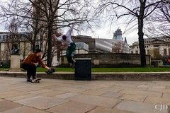 He Was A Skater Boy..... (CJD imagery) Tags: canonefs18135mmf3556isstm canoneos80d outdoors spring skateboarding skater skate city streetphotography street london stpaul'schurchyard england gb greatbritain uk unitedkingdom