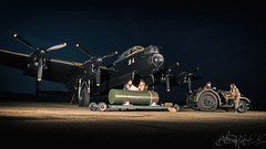 Lincolnshire Aviation Heritage Centre Avro Lancaster B.VII G-ASXX NX611-5 (Ben Stanley Hall) Tags: lincolnshire aviation heritage centre avro lancaster bvii gasxx nx611 just jane east kirky ww2 wwii bomb bomber heavy city sheffield county avgeek avporn fly flight flying nightshiit night shoot timeline events canon 7d2 nightshoot warbird historic prop