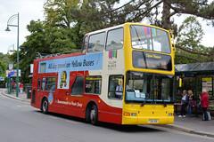 yb 433 - T204 XBV (Solenteer) Tags: yellowbuses bournemouthtransport ratp 433 t204xbv daf db250 plaxton president bournemouth